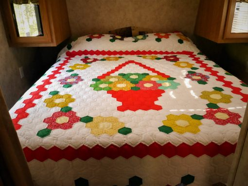 Short Queen Bed including sheets and pillows!